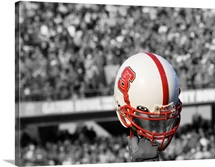 NC State Football Helmet