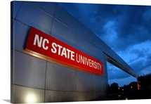 NC State University Photographs Campus Gateway