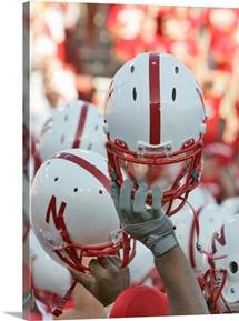 Nebraska Football Helmets