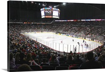 Nebraska Omaha Photographs Packed House for Hockey