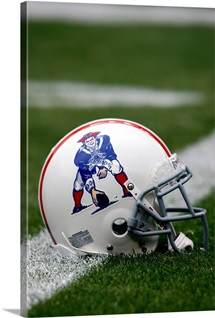 New England Patriots Throwback Helmet