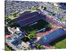 New Mexico: Aerial View of University Stadium