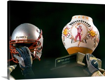 New Mexico Photographs Holding High the New Mexico Bowl