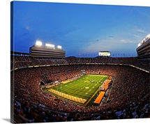 Neyland Stadium during the second half an NCAA college football game