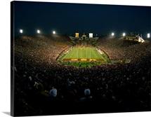 Night Game at Memorial Coliseum