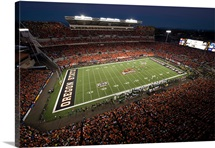 Night Game at Reser Stadium