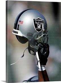 Oakland Raiders Football Helmet