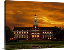 Oklahoma States Edmon Low Library