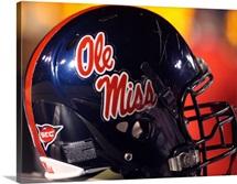 Ole Miss Football Helmet