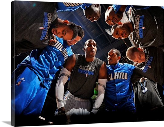 Orlando Magic Huddle