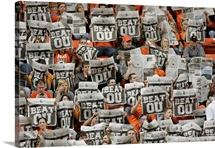 "OSU Pictures OSU Fans Cheer ""Beat OU"""