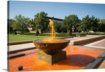 OSU Pictures The Water Runs Orange at OSU