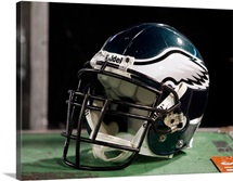 Philadelphia Eagles Football Helmet