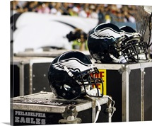 Philadelphia Eagles Helmets