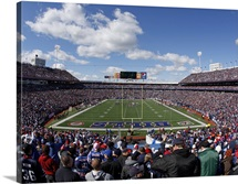 Ralph Wilson Stadium on Game Day