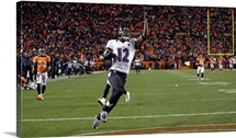 Ravens Broncos Football - Jacoby Jones