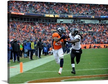 Ravens Broncos Football - Knowshon Moreno