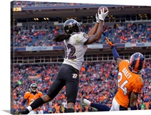 Ravens Broncos Football - Torrey Smith