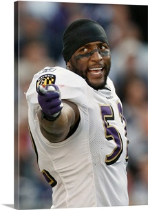Ravens Linebacker Ray Lewis