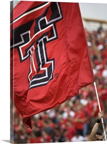 Red Raider Flag Flies on Game Day
