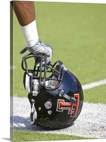 Red Raider Helmet