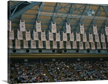 Retired and Honored UNC Basketball Jerseys