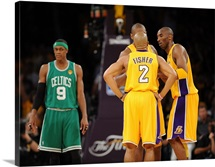 Ron Artest, Derek Fisher, Kobe Bryant