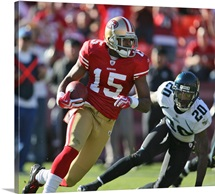 San Francisco 49ers Receiver Michael Crabtree