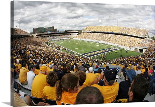 Sea of Gold Packs Milan Puskar Stadium