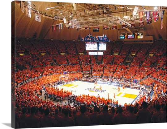 Sea of Orange at Assembly Hall
