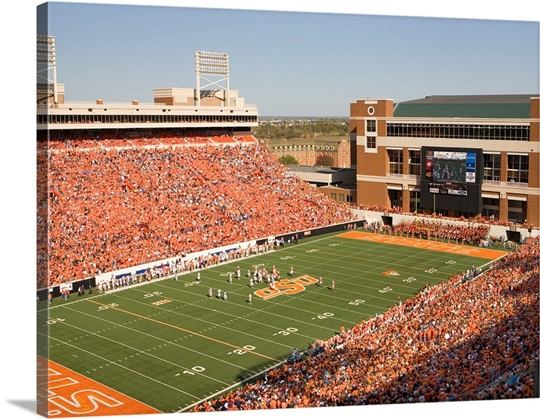 Sea of Orange in Boone Pickens Stadium