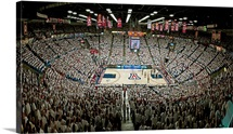 Sea of White at the McKale Center
