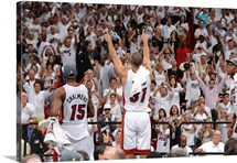 Shane Battier Celebrates a Championship - 2012 NBA Finals.