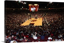 South Carolina Pictures First Game in the Colonial Center