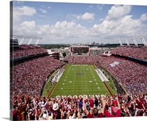 South Carolina: View from the Endzone at Williams Brice Stadium