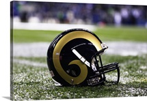St. Louis Rams Helmet
