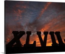 Super Bowl XLVII Sunset