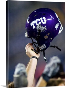 TCU Football Helmet