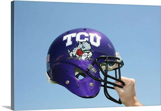 TCU Rose Bowl Helmet, 2011