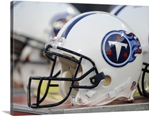 Tennessee Titans Football Helmets
