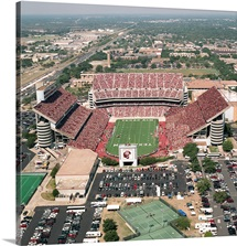 Texas A&M Pictures Endzone View of Kyle Field