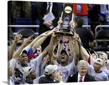 The 2008 National Champions Kansas Jayhawks