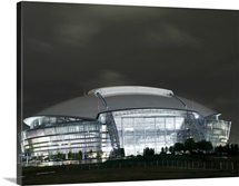 The Cowboys Stadium in Arlington, Texas