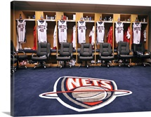 The Nets Locker Room