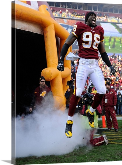 The Redskins Brian Orakpo