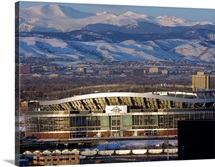 The Rocky Mountains at Sports Authority Field at Mile High Stadium