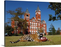 The Tiger, The Football, and Samford Hall
