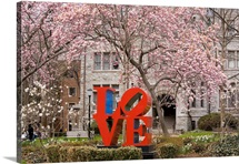 University of Pennsylvania Photographs The Love Statue