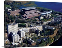 University of Washington Stadium and Campus Aerial