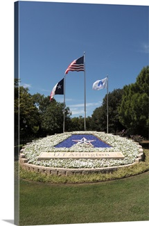 UT Arlington Pictures The UTA Logo and Flags